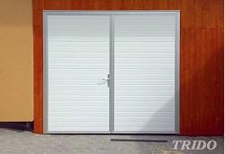 Křídlová garážová vrata Trido