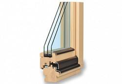 Dřevěné klasické euro okno TTK Komfort Plus