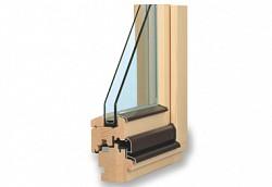 Dřevěné klasické euro okno TTK Komfort
