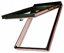 Výkopně-kyvné okno Fakro dřevěné