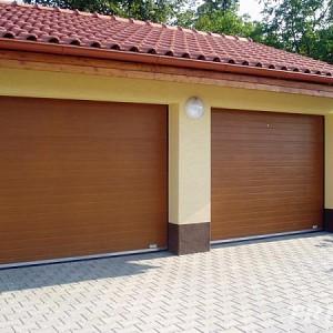 Výsuvná sekční garážová vrata