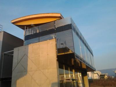 Výrobní hala a AB firmy TetraStav, Ružomberok