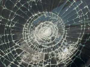 kalené sklo
