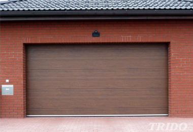 Výsuvná garážová vrata pod strop Trido EASY