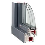 Plastové okno Pasiv HL Alu Clip