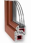 Plastové okno Slovaktual Standard CL+ Al clip