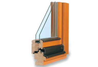 Dřevěné klasické euro okno TTK Klasik