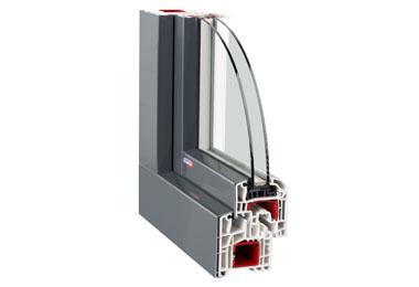 Plastové okno Slovaktual Standard OL Al clip
