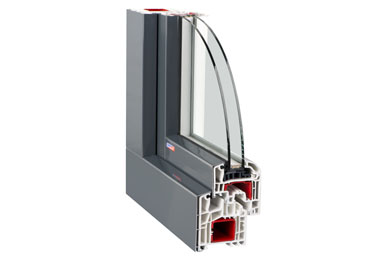 Plastové okno Slovaktual Standard CL Al clip