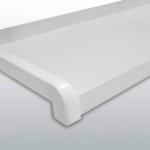 Vonkajší ohýbaný parapet-biela 49016