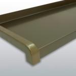 Vonkajší ohýbaný parapet- strdný bronz C33