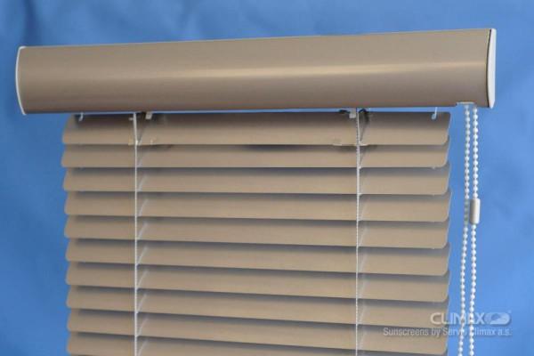 Okenní žaluzie s Rondo lištou
