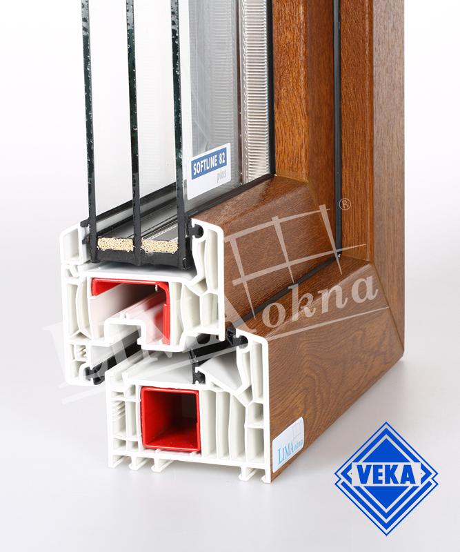 Plastové okno VEKA Softline 82 plus